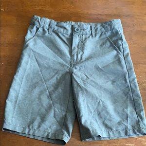 Grey Dri-Fit Boys Dress Shorts